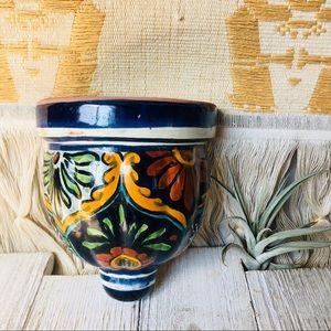 Vintage Ceramic Wall Pocket